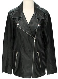 Zara Faux Leather Motorcycle Jacket