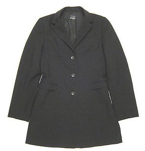 Zara Womens Zara Long Black Blazer Jacket Button