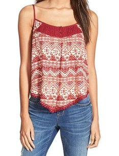 Zoe & Rose Cami Color-reds Condition-new-with-tags New With Tags 3315-0873 Top Red